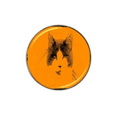 Cat Graphic Art Hat Clip Ball Marker (4 pack)