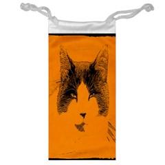 Cat Graphic Art Jewelry Bag