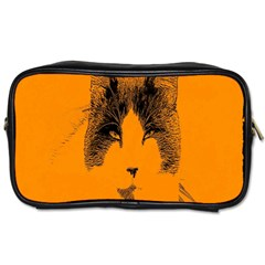 Cat Graphic Art Toiletries Bags