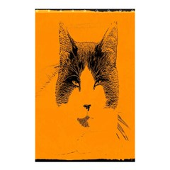 Cat Graphic Art Shower Curtain 48  X 72  (small)
