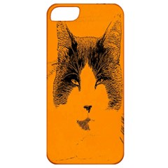 Cat Graphic Art Apple iPhone 5 Classic Hardshell Case