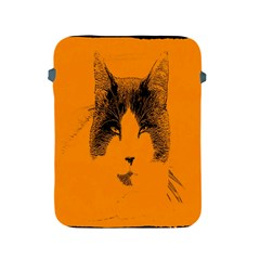 Cat Graphic Art Apple iPad 2/3/4 Protective Soft Cases