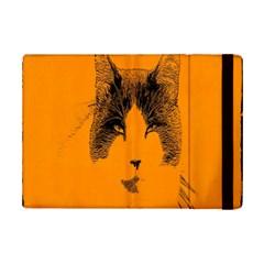 Cat Graphic Art iPad Mini 2 Flip Cases