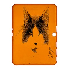 Cat Graphic Art Samsung Galaxy Tab 4 (10.1 ) Hardshell Case