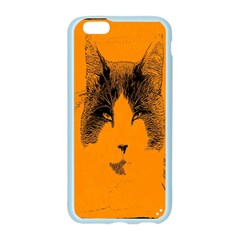 Cat Graphic Art Apple Seamless iPhone 6/6S Case (Color)