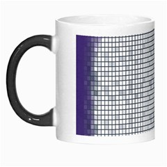 Purple Square Frame With Mosaic Pattern Morph Mugs