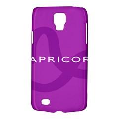 Zodiac Capricorn Purple Galaxy S4 Active