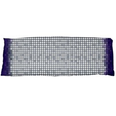 Purple Square Frame With Mosaic Pattern Body Pillow Case Dakimakura (Two Sides)