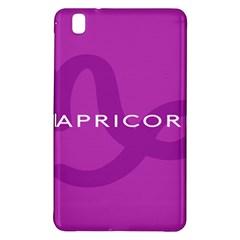 Zodiac Capricorn Purple Samsung Galaxy Tab Pro 8.4 Hardshell Case