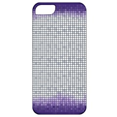 Purple Square Frame With Mosaic Pattern Apple Iphone 5 Classic Hardshell Case