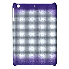 Purple Square Frame With Mosaic Pattern Apple Ipad Mini Hardshell Case