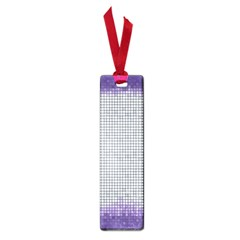 Purple Square Frame With Mosaic Pattern Small Book Marks