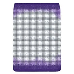 Purple Square Frame With Mosaic Pattern Flap Covers (L)
