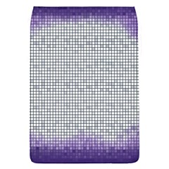 Purple Square Frame With Mosaic Pattern Flap Covers (S)