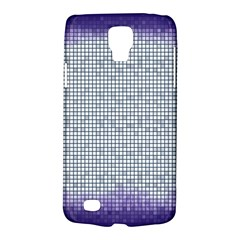 Purple Square Frame With Mosaic Pattern Galaxy S4 Active