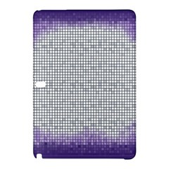 Purple Square Frame With Mosaic Pattern Samsung Galaxy Tab Pro 10.1 Hardshell Case
