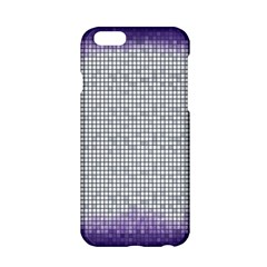 Purple Square Frame With Mosaic Pattern Apple iPhone 6/6S Hardshell Case