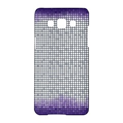 Purple Square Frame With Mosaic Pattern Samsung Galaxy A5 Hardshell Case