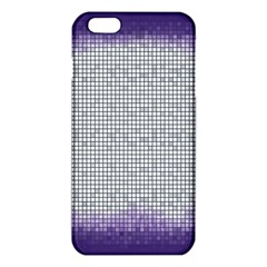 Purple Square Frame With Mosaic Pattern iPhone 6 Plus/6S Plus TPU Case