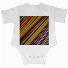 Colourful Lines Infant Creepers