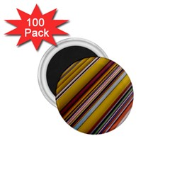 Colourful Lines 1.75  Magnets (100 pack)