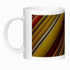 Colourful Lines Night Luminous Mugs