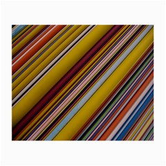 Colourful Lines Small Glasses Cloth
