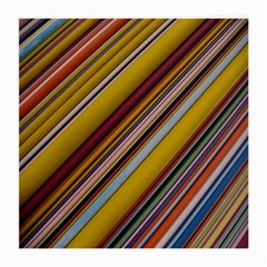 Colourful Lines Medium Glasses Cloth (2-Side)
