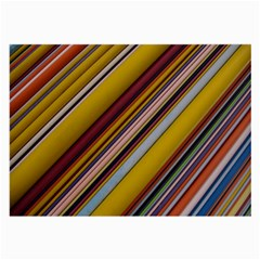 Colourful Lines Large Glasses Cloth