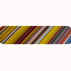 Colourful Lines Large Bar Mats