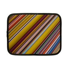 Colourful Lines Netbook Case (small)
