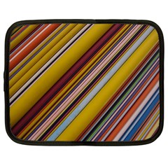 Colourful Lines Netbook Case (large)