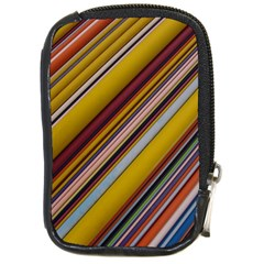Colourful Lines Compact Camera Cases
