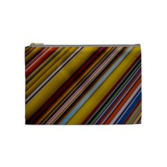 Colourful Lines Cosmetic Bag (Medium)