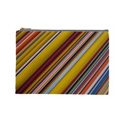 Colourful Lines Cosmetic Bag (Large)