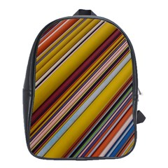 Colourful Lines School Bags(large)