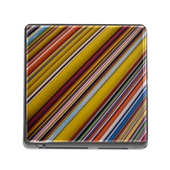 Colourful Lines Memory Card Reader (Square)