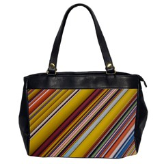 Colourful Lines Office Handbags (2 Sides)