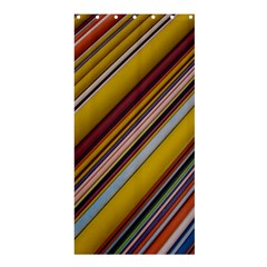 Colourful Lines Shower Curtain 36  x 72  (Stall)