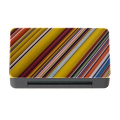 Colourful Lines Memory Card Reader with CF
