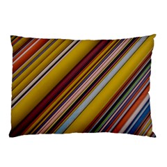 Colourful Lines Pillow Case (Two Sides)