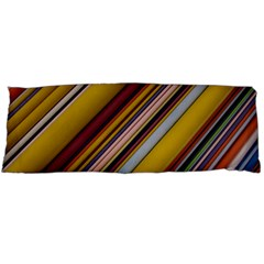 Colourful Lines Body Pillow Case (Dakimakura)