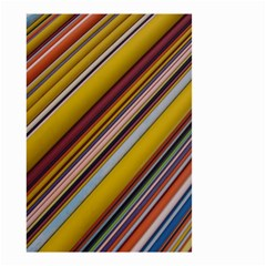 Colourful Lines Small Garden Flag (two Sides)
