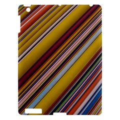 Colourful Lines Apple Ipad 3/4 Hardshell Case