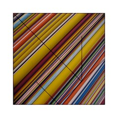 Colourful Lines Acrylic Tangram Puzzle (6  X 6 )