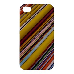 Colourful Lines Apple iPhone 4/4S Premium Hardshell Case