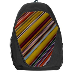 Colourful Lines Backpack Bag
