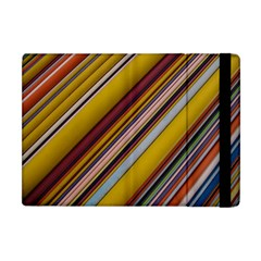 Colourful Lines Apple iPad Mini Flip Case