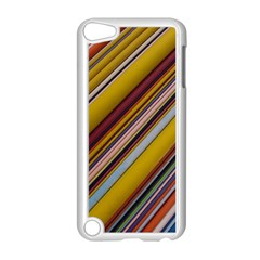 Colourful Lines Apple iPod Touch 5 Case (White)