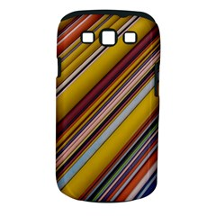 Colourful Lines Samsung Galaxy S III Classic Hardshell Case (PC+Silicone)